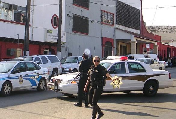 Tijuana-policias