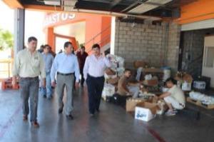 RECORRE DE LA ROSA CENTRAL DE ABASTOS DE MEXICALI