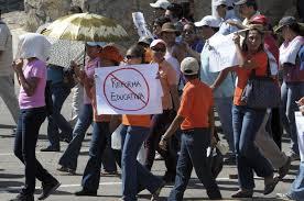 reforma educativa protesta