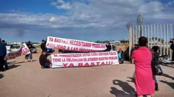manifestacion garita 222