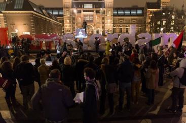 manifestacion holanda ayot