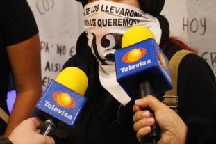 manifestacion EPN Televisa