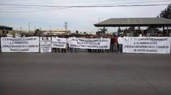 manifestacion tijuana yonkeros