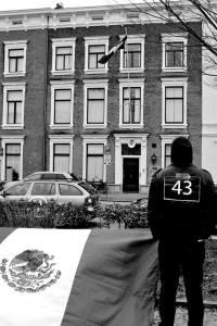 manifestación Ayotzinapa Holanda 2