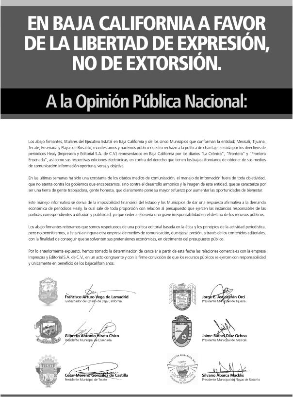 periodicos extorsion