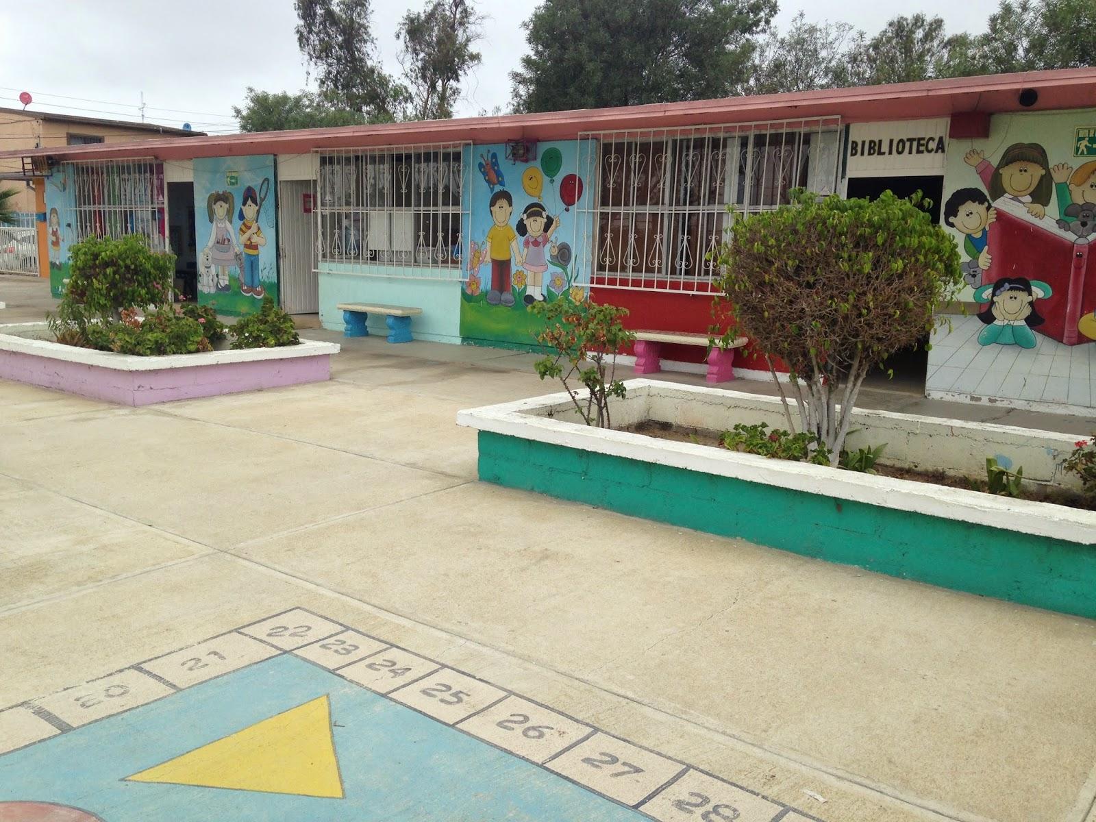Escuelas lindero norte for Casa de jardin ninos