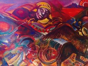 Mural Coronado Biblioteca 2