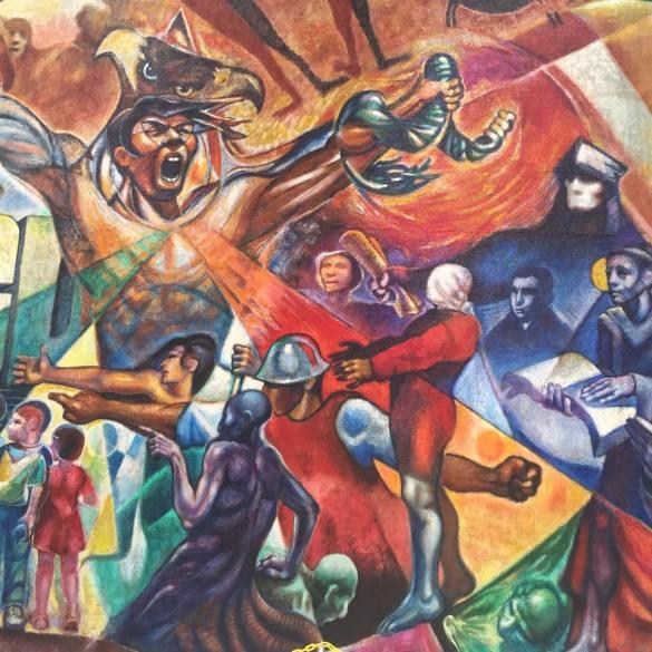 Mural Coronado Biblioteca