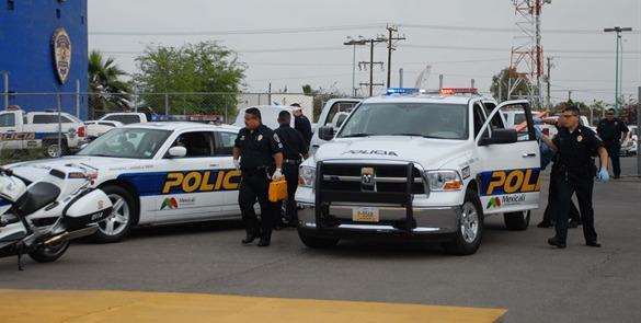 Mexicali policia okas