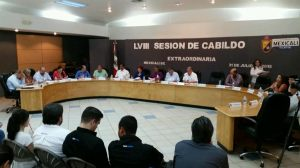 sesion extraordinaria de cabildo Mexicali