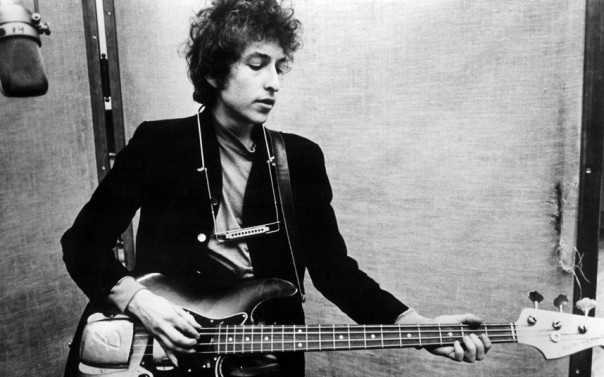 Various - 1960s...No Merchandising. Editorial Use Only  Mandatory Credit: Photo by Everett Collection / Rex Features ( 672225d )  'Festival', Bob Dylan, playing a Fender in the studio, circa 1965. This 1967 documentary features Dylan's 1st performance using an electric guitar, at the Newport Folk Festival.  Various - 1960s